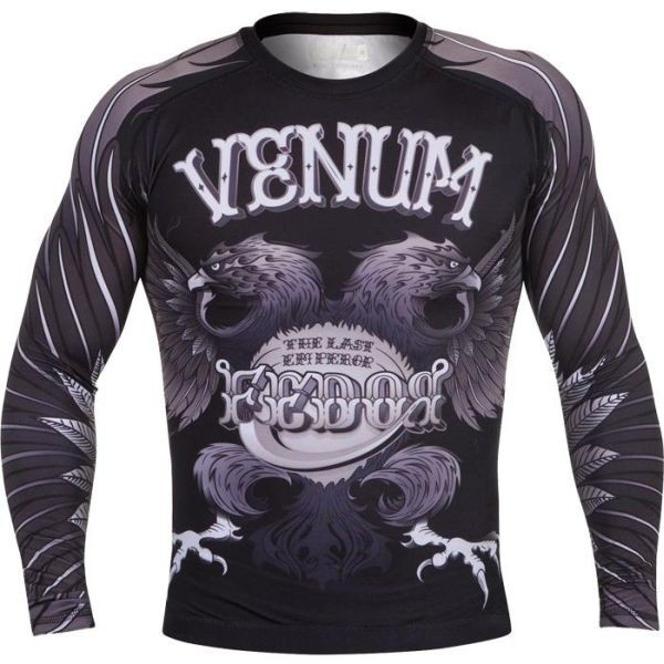 Рашгард Venum Fedor black - gray