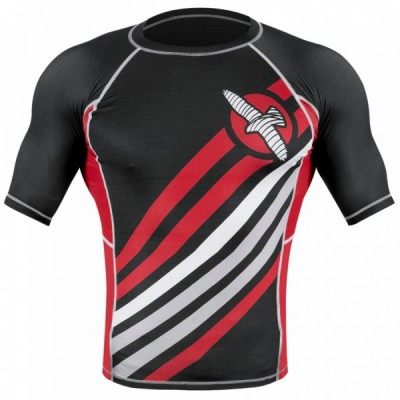 Рашгард Hayabusa Elevate Rashguard Short Sleeve - Black
