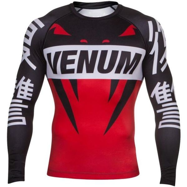 Рашгард Venum Revenge black - red