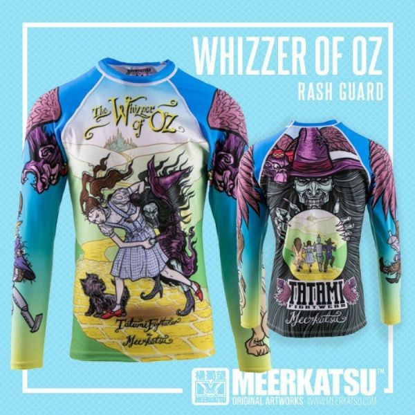 Рашгард Tatami Meerkatsu Whizzer Of Oz Rash Guard