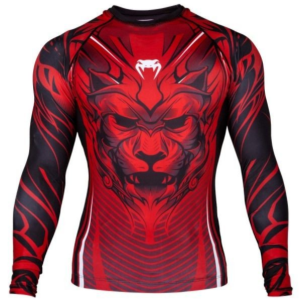 Рашгард Venum Bloody Roar L/S - Black/Red