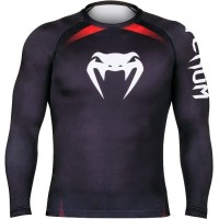 Рашгард Venum No Gi IBJJF black
