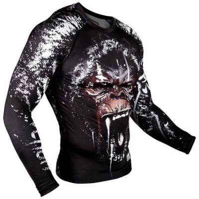 Рашгард Hayabusa Elevate Rashguard Long Sleeve - White